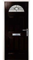 Composite front door - Austrian Black