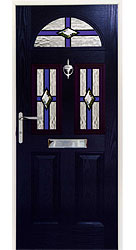 Composite front door - Austrian Blue