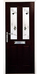 Composite front door - Exotic Black