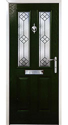 Composite front door - Heritage Green