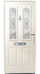 Composite front door - Ocean White