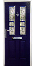 Composite front door - Old English Blue