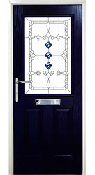 Composite front door - Spanish Blue