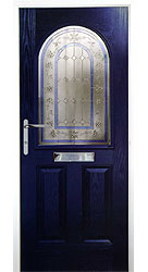 Composite front door - Springs Blue