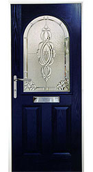 Composite front door - Sunset Blue