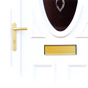 UPVC door detail